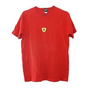 Y2K Ferrari Logo Tee